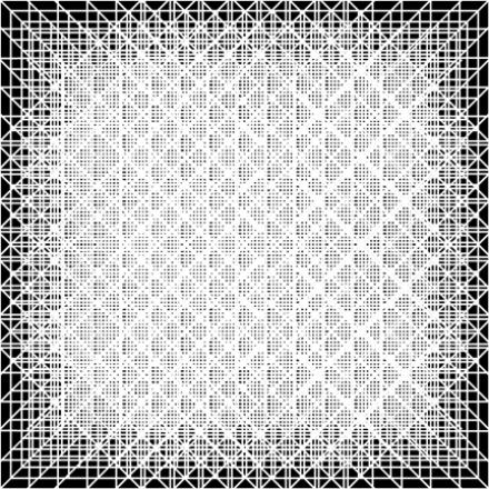 Snelson, P., II. (2010). Field of Matrices in White. Computer graphic.