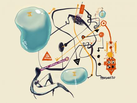 Bardakos, J. (2020). Ateleological arrows and bubbles. Digital.